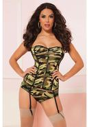 Cmmndr In Chc Crset And Boyshort-l (disc)